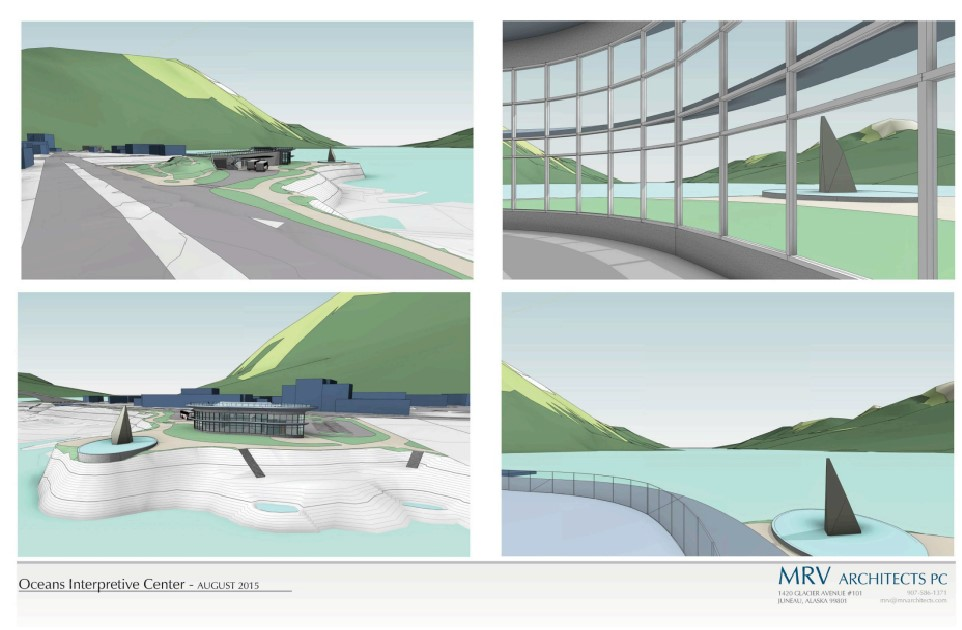 Drawing of Juneau Ocean Center