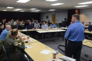 Safety personnel participate in The Northwest Passage Tabletop Exercise