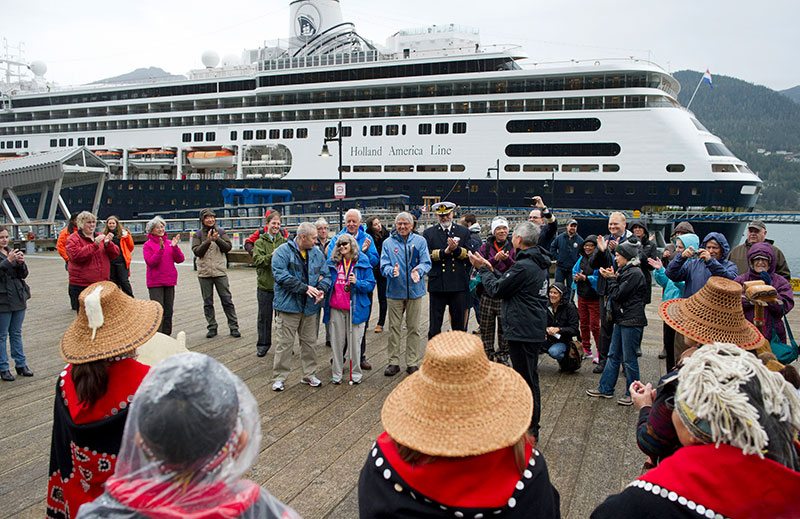 one millionth cruise ship visitor