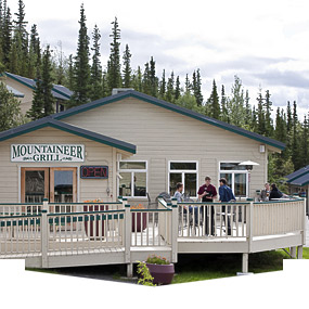 New addition to Denali Bluffs Hotel will overlook the Nenana River.