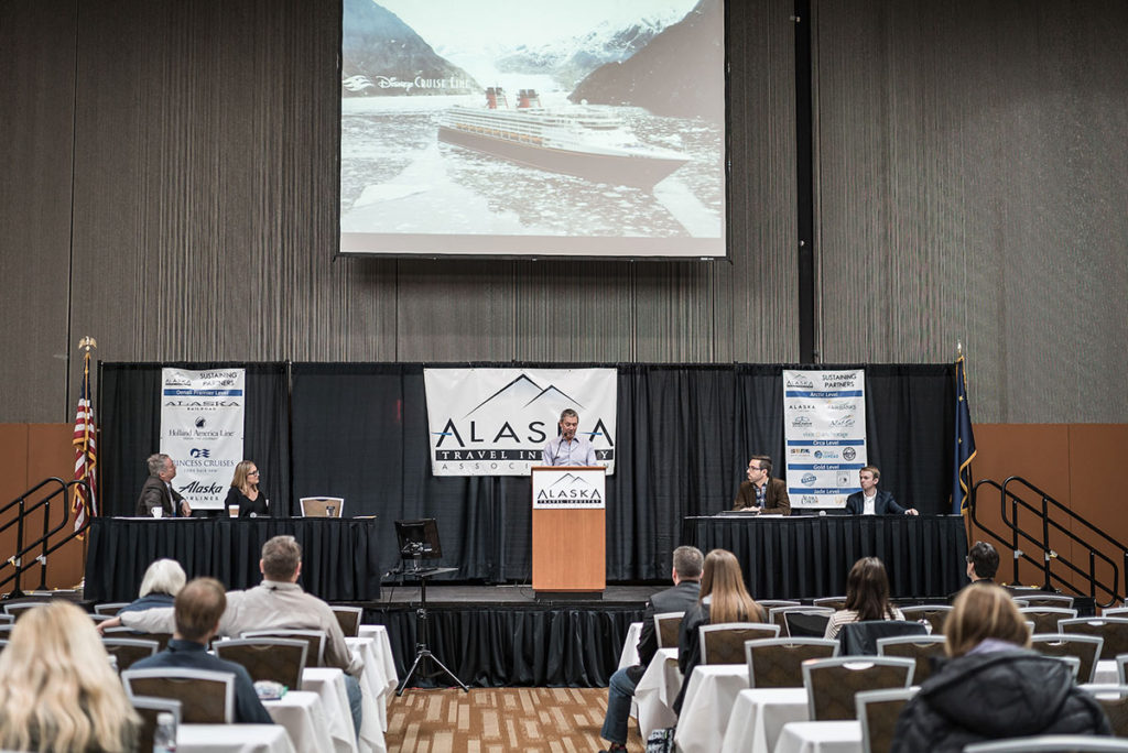 CLIA President John Binkley opened the State of the Cruise Industry panel