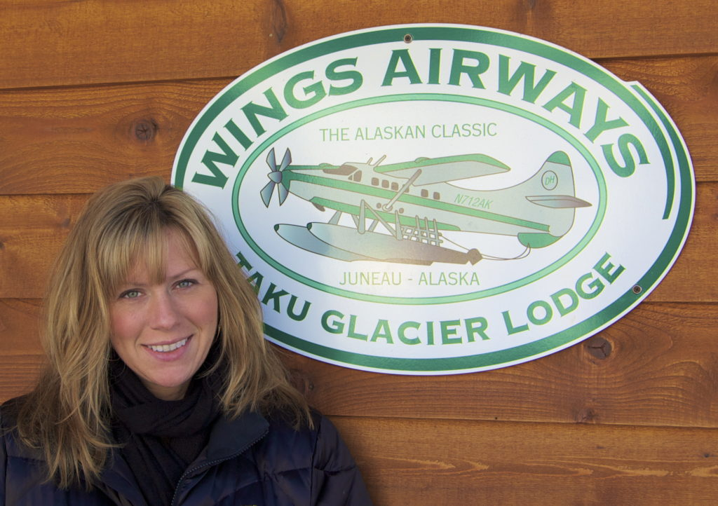 Holly Johnson, president of Wings Airways/Taku Glacier Lodge was elected to the ATIA Board of Directors.