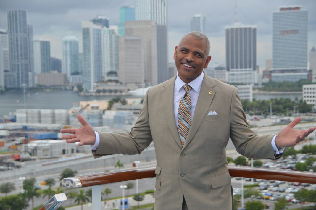 Arnold Donald, Carnival's CEO and CLIA global chair