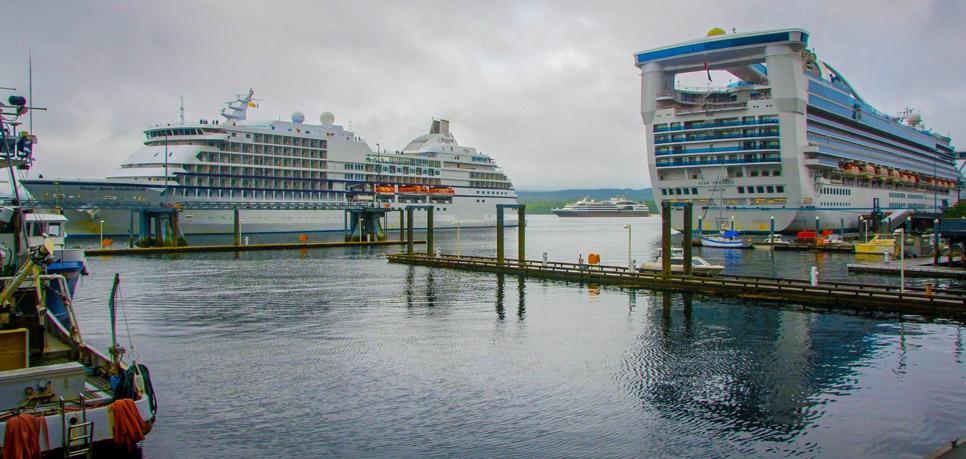 cruise ships Ketchikan