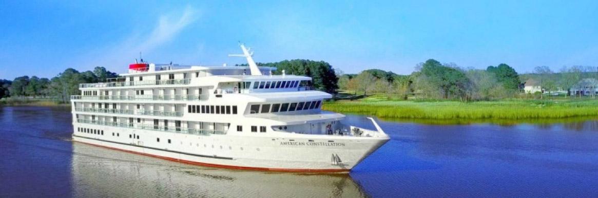 American Constellation is the latest cruise ship from American Cruise Lines
