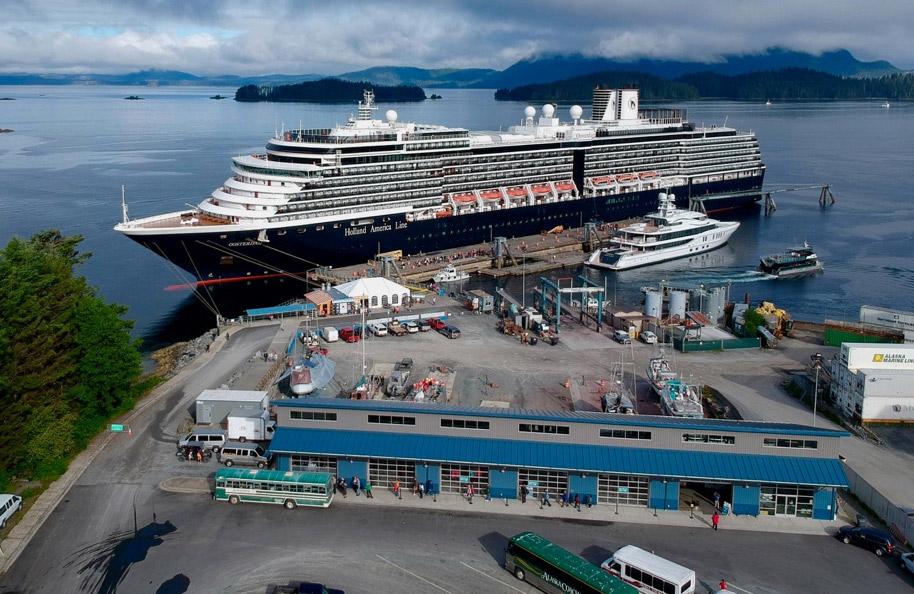 Sitka Alaska dock