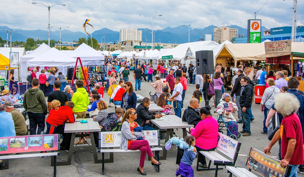 Anchorage's Downtown Market