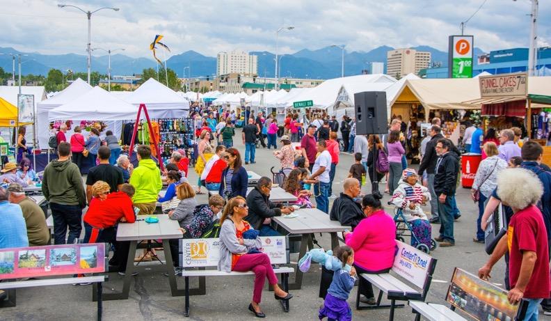 Saturday Market Anchorage