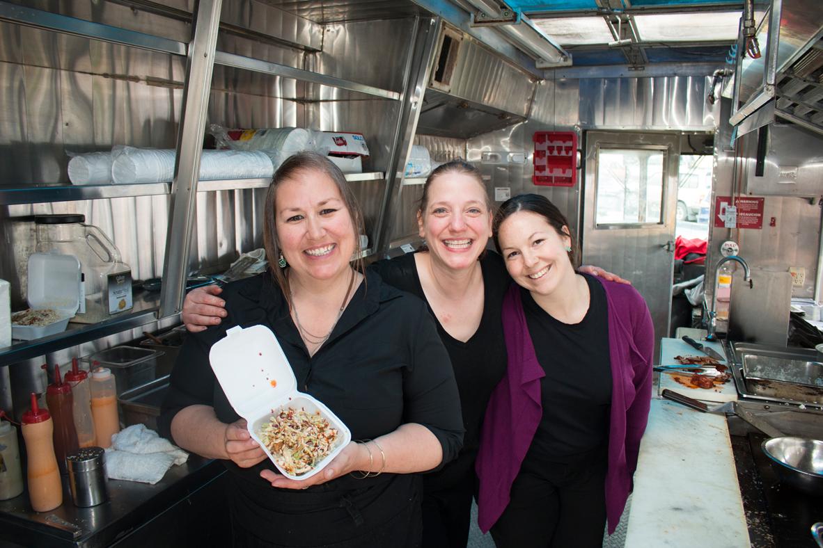 V's Cellar Door Food Truck at Juneau Travel Fair 2016 - credit Travel Juneau