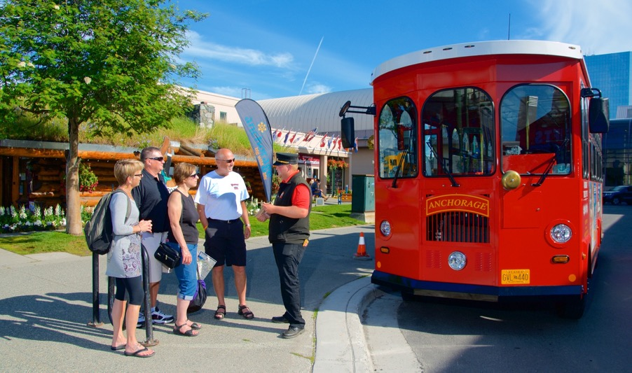 anchorage trolley