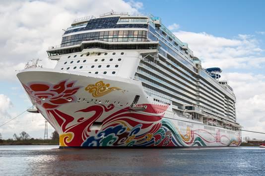 Norwegian Cruise Line ship Norwegian Joy