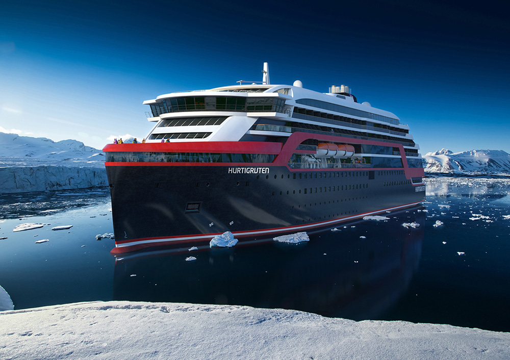 Roald Amundsen cruise ship
