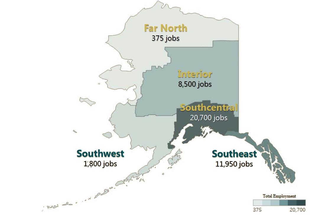 Regional Employment impacts 2017