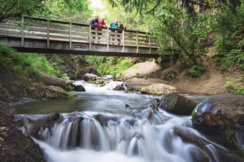 McHugh Creek bridge