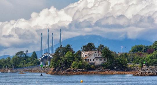 Sitka Alaska bridge