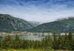 Juneau Alaska downtown view
