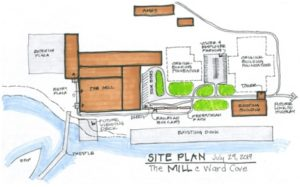 ward cove site plan