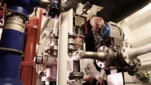 The Advanced Water Treatment Systems aboard the cruise